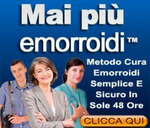 Emorroidi Interne sintomi