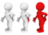 I il dolore può essere emorroidi interne o esterne? Metti la medicina sulla zona